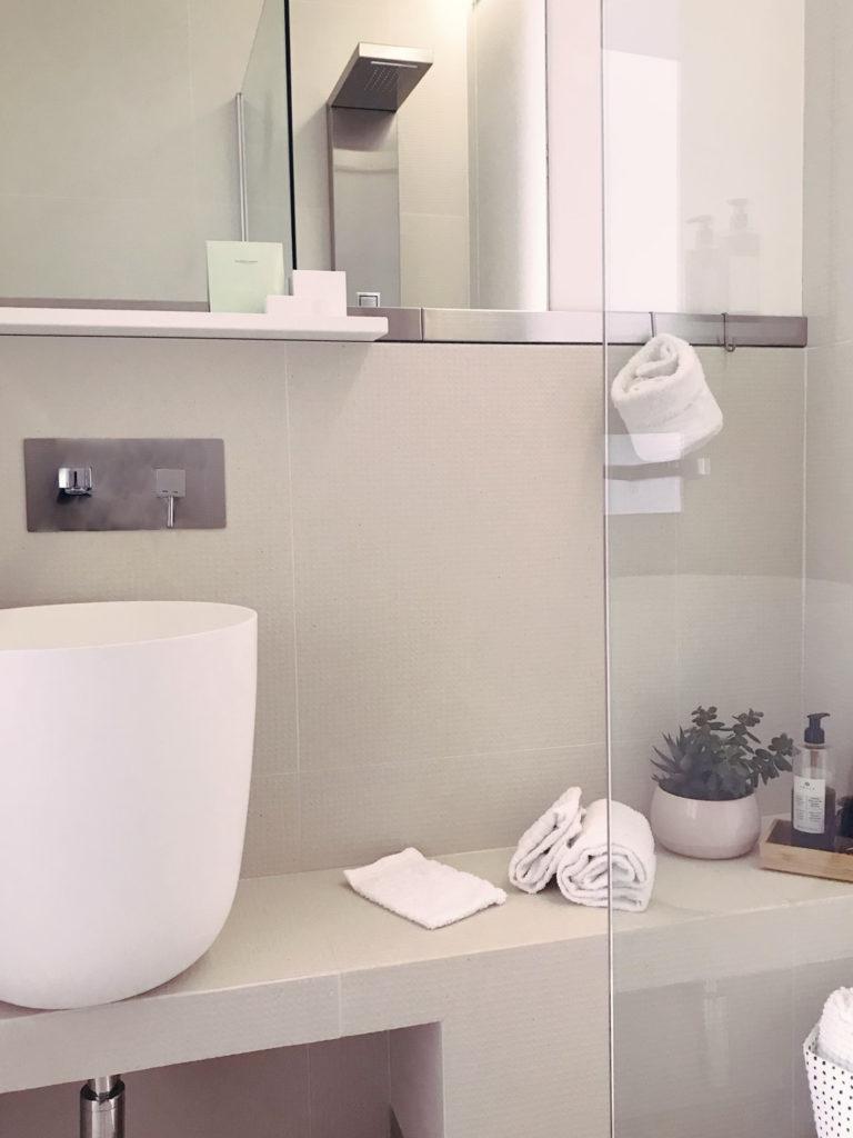 il bagno bianco